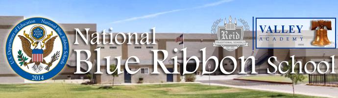 Valley Academy National Blue Ribbon School 2014