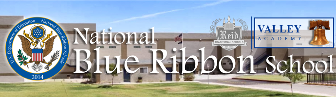 Valley Academy National Blue Ribbon School 2014