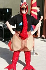 Miss McMillan as Turkey 3