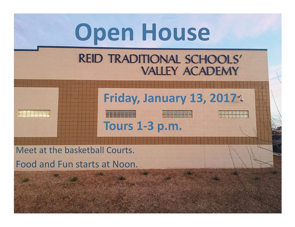 school building with open house dates